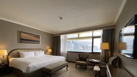 【酒店優惠2021】馬哥孛羅香港酒店Marco Polo試住報告!Staycation升級海景房包黑松露牛扒晚餐