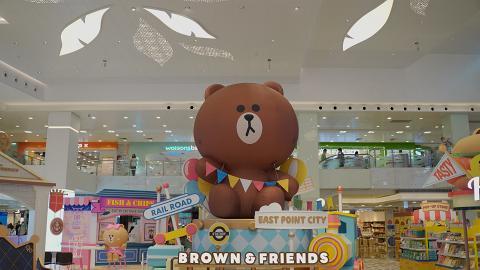 【暑假好去處】LINE FRIENDS大型主題展將開幕!6大商場設荷蘭風車村/土耳其熱氣球/大阪屋台