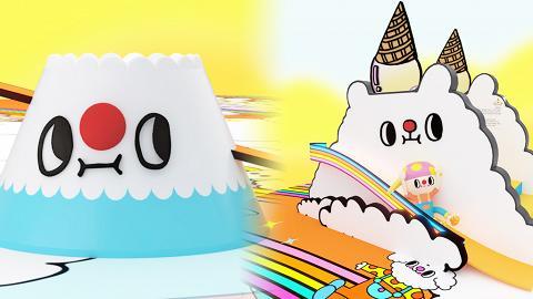 【暑假好去處】本地插畫星球雲家族5大打卡場景登陸東涌!4米高彩虹滑梯/空中鞦韆/幻彩氹氹轉