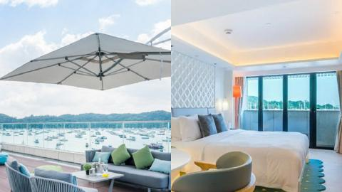 【酒店優惠2021】西貢The Pier Staycation優惠$1280起 入住豪華露台房包早餐及來回三星灣船票