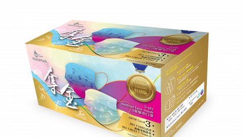 【東京奧運】屈臣氏限量奪金特別版口罩 每盒捐$30予精英運動員慈善基金 (附購買連結)