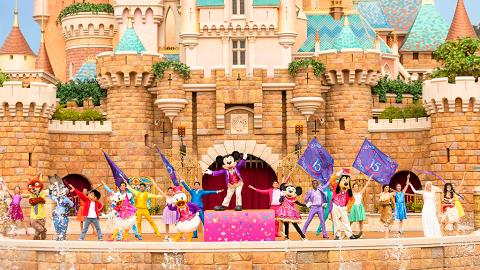 奇妙夏日之旅 到香港迪士尼樂園展開尋夢奇緣