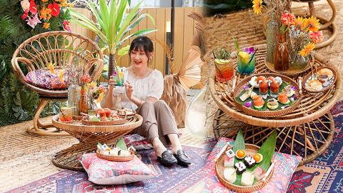 【旺角美食】Morokok新出亞熱帶風情下午茶 摩洛哥風打卡位!歎勻11款開胃鹹甜點+送即影即有相