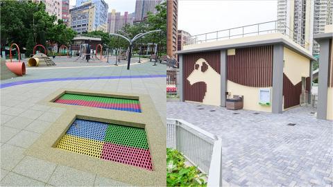 【新蒲崗好去處】東啟德公園鄰近港鐵 佔地過萬平方米 設兒童遊樂場/健身園地/緩跑徑/寵物公園