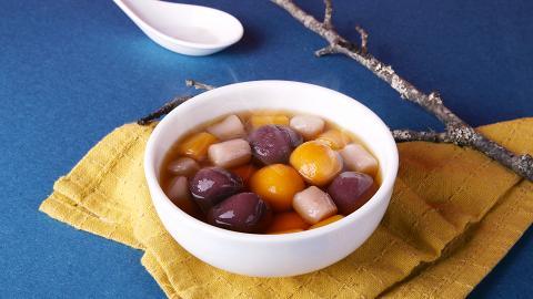 鮮芋仙新裝冷凍芋圓超市有售 $48歎芝麻紫薯圓+芋薯圓
