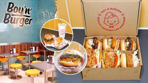 【灣仔美食】灣仔新開高質漢堡快餐店 爆汁肉味超濃!價錢親民!最平$28食到新鮮手打牛肉漢堡