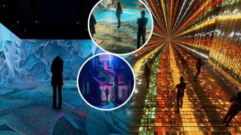 亞洲首個ART TECH體驗展DIGITAL ART FAIR ASIA登陸中環!2萬呎設5大展區/沉浸式燈光世界