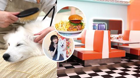 【將軍澳好去處】將軍澳新開7000呎復古美式餐廳 寵物友善Cafe!狗狗一站式美容服務/超多打卡位