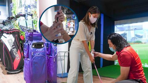 【室內好去處】金鐘新開室內高爾夫球場 過百條實境球道!多種類餐飲+零售服飾裝備