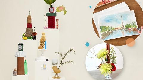 diptyque文化與藝術工作坊,以香氣導航水彩畫/園藝/花道,費用全數redeem+送禮