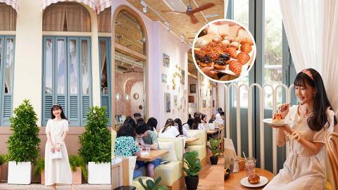 【赤柱美食】赤柱全新意式渡假風Cafe「Pane e latte」自設新鮮烘焙工場!海邊歎盡手工麵包甜點