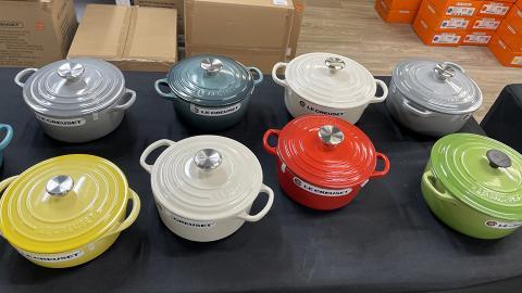 【開倉優惠】Le Creuset中環限時3折開倉 鑄鐵鍋/燒烤盤/陶瓷餐具$78起