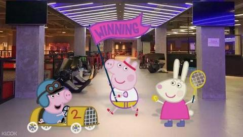【何文田好去處】全香港首個Peppa Pig高卡車主題館!見面會影相合照+玩小型賽車/飄移車