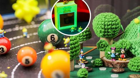 迪士尼《Miniature Journal》1:64微縮模型展登陸將軍澳+上水!2米高Pixar故事書/米奇微縮場景