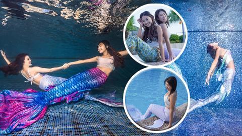 化身美人魚水底大跳Mermaid Dance!專業教練傳授人魚泳術及舞姿 10分鐘學懂在水中擺靚甫士