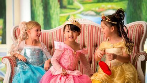 【迪士尼優惠2021】香港迪士尼樂園城堡化妝廳限時減$800!變身迪士尼公主影相 包美甲+髮型