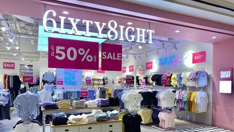 【減價優惠】6IXTY8IGHT全線5折大減價 內褲/胸圍/上衣/褲款低至$29.9