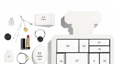 【聖誕禮物2021】CHANEL聖誕倒數月曆首度登場 一盒有齊香水/唇膏/指甲油