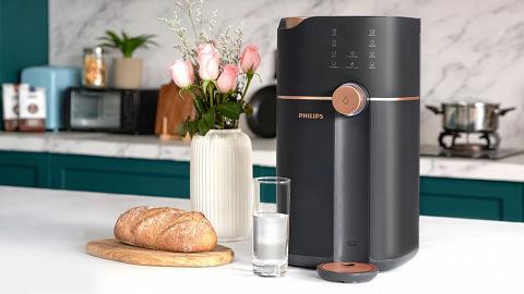 健康方便兼環保 智能即熱水機即享新鮮純淨水