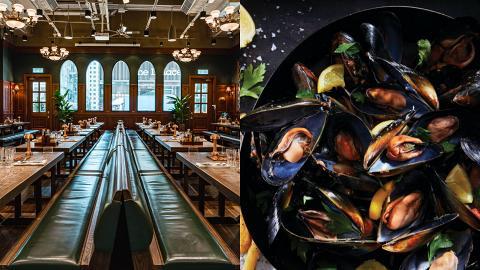 比利時酒店餐廳Frites每日優惠推任食青口/西冷牛扒/薯條!供應逾50種酒類 午市套餐$135起