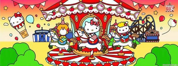 Hello Kitty40周年展覽Hello Kitty Go Around將於10月底於九展舉行。 圖:Sanrio Hong Kong Facebook