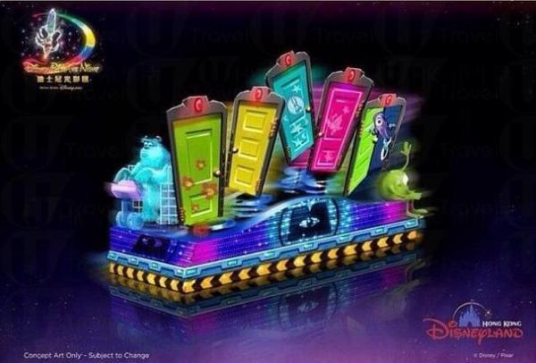 《魔雪奇緣》是今年「雪亮聖誕」主題,特意邀請Elsa和Anna來到香港迪士尼!