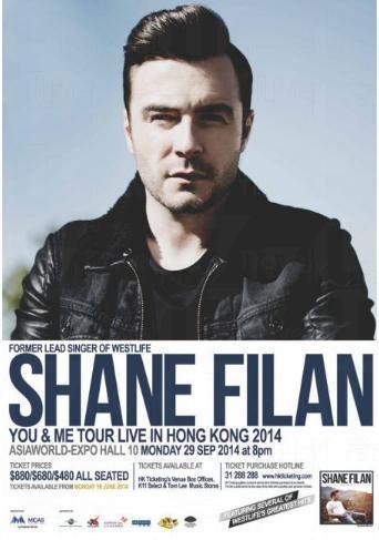 Westlife主唱之一Shane Filan。