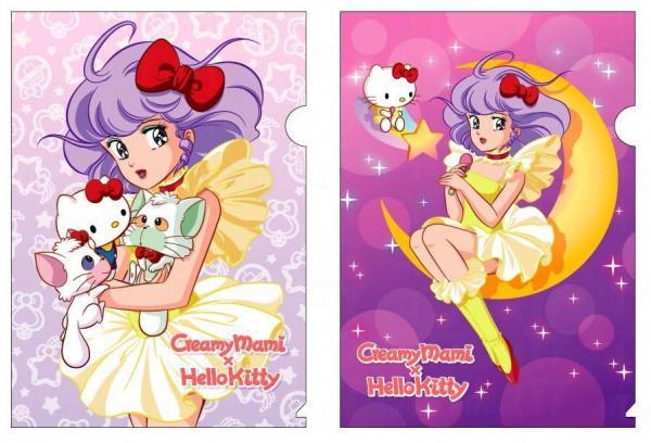 Creamy Mami x Hello Kitty A4 膠文件夾