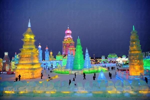 今年10月,哈爾濱的冰雕城將會「搬」到元朗大棠。