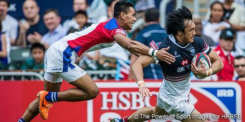 香港國際七人欖球賽。