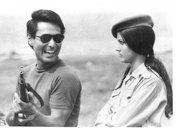 黑木和雄《古巴戀人》(1969)劇照。