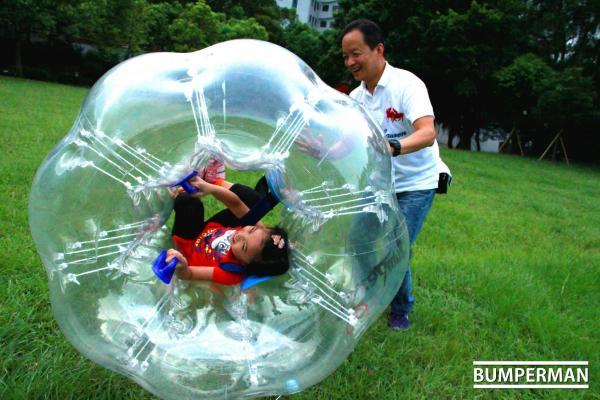 親子樂園區 來源:香港碰碰球協會Facebook