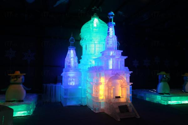 堡壘冰雕@香港哈爾濱冰雪節2014