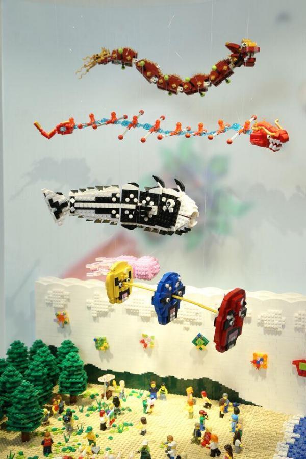 Lego展品