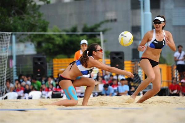 女子沙灘排球