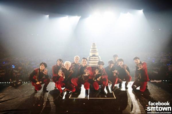 第100場「SUPER SHOW」 圖:슈퍼주니어(Super Junior)