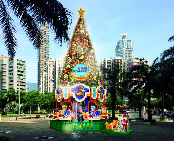 15米高的聖誕樹
