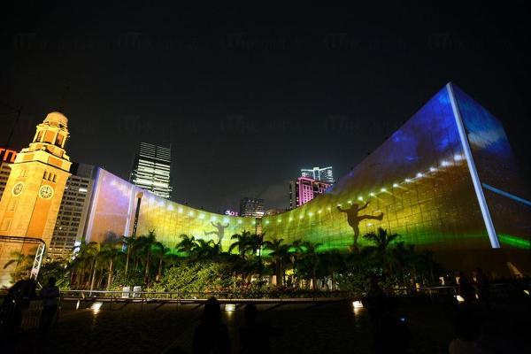 國際欖球賽事@「閃躍維港」3D光雕匯演