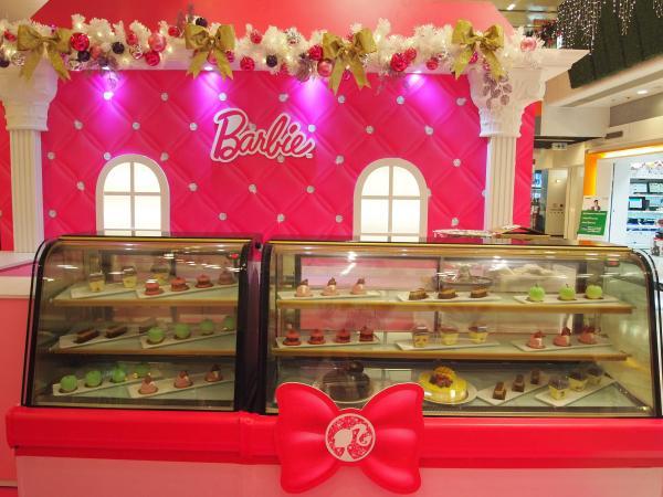 Barbie浪漫咖啡廳