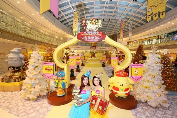 Pom Pom Purin & Family貴族聖誕