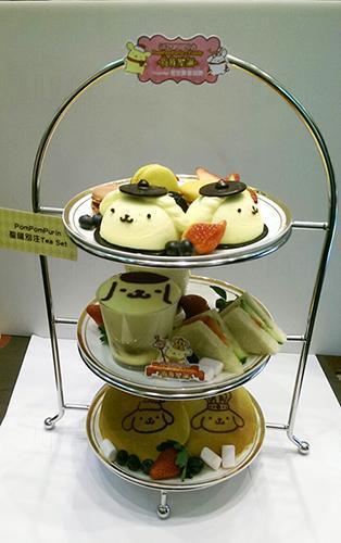 布甸狗聖誕二人Tea Set $388