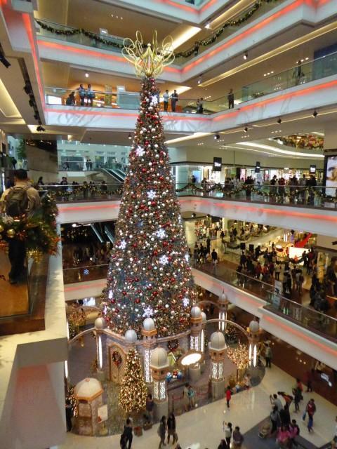 巨大聖誕樹@又一城