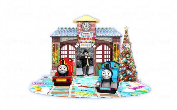 Thomas&Friend「聖誕糖果小鎮」藍灣廣場