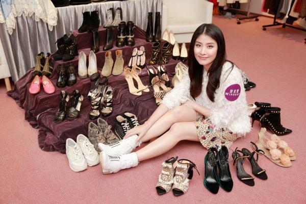 陳慧琳捐出過千件衣服、鞋、手袋及飾物等