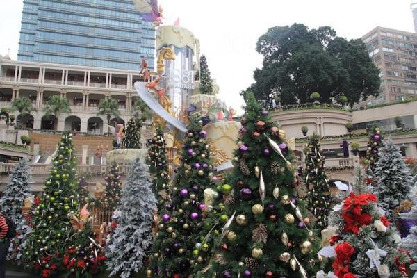 1881 Heritage 華麗佈置 過百棵聖誕樹森林