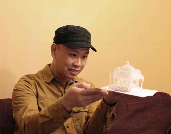本地首位紙雕工程師Max Chow