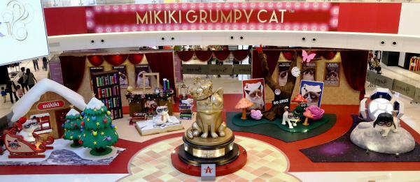 Mikiki x 不爽貓Grumpy Cat帶來超不爽聖誕