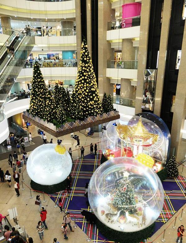 時代廣場小人國夢幻聖誕之旅
