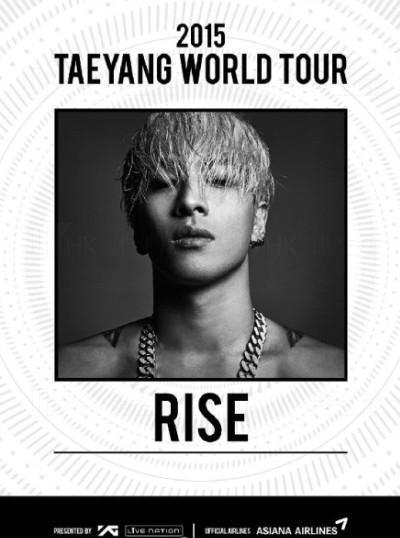 TaeYang世界巡迴RISE首站香港