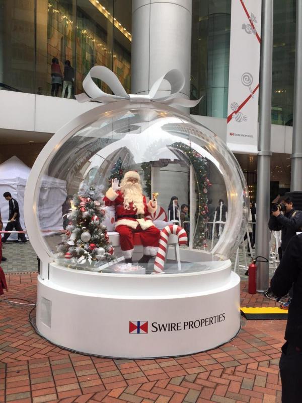 白色聖誕市集
